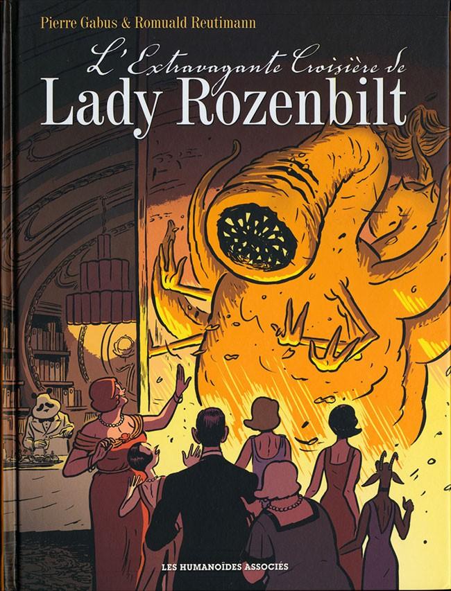 Couverture de L'extravagante Croisière de Lady Rozenbilt - L'Extravagante croisière de Lady Rozenbilt