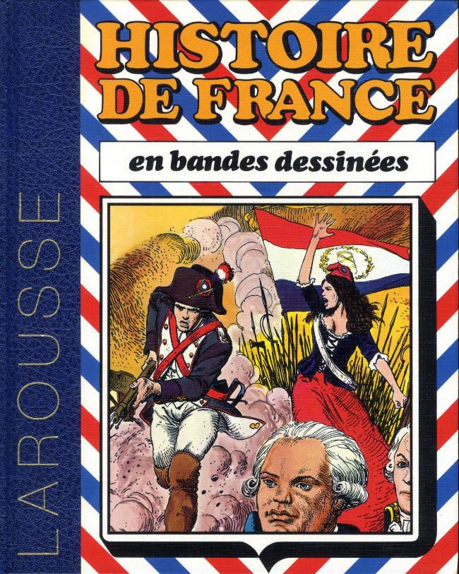 Couverture de Histoire de France en bandes dessinées (Intégrale) -5- De Louis XIV à la révolution