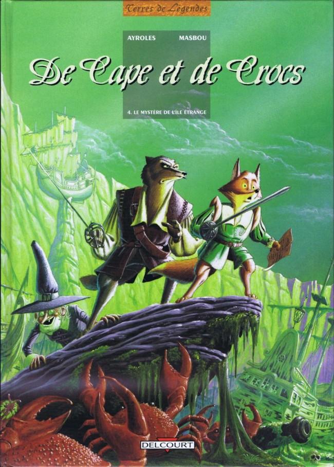 Couverture de De Cape et de Crocs -4- Le Mystère de l'île étrange