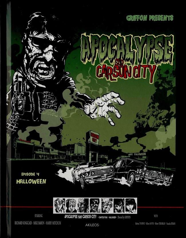 Couverture de Apocalypse sur Carson City -4- Halloween
