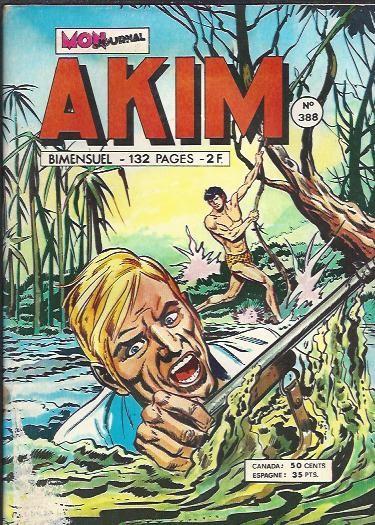 Couverture de Akim (1re série) -388- Les ravisseurs
