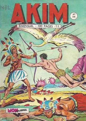 Couverture de Akim (1re série) -226- Piège mortel