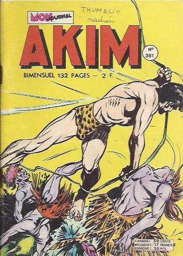 Couverture de Akim (1re série) -381- À malin, malin et demi...