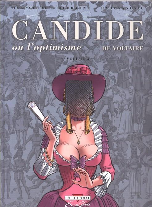 Candide ou l'Optimisme - 3 Tomes