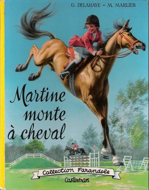 Couverture de Martine -16- Martine monte à cheval