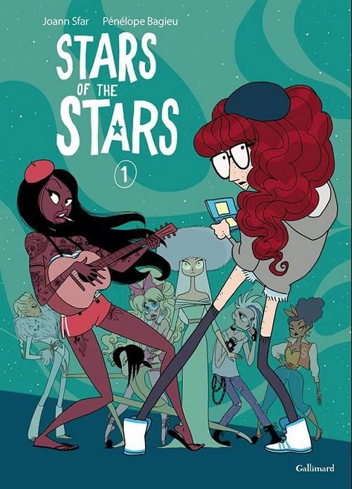 Couverture de Stars of the stars -1- Volume 1
