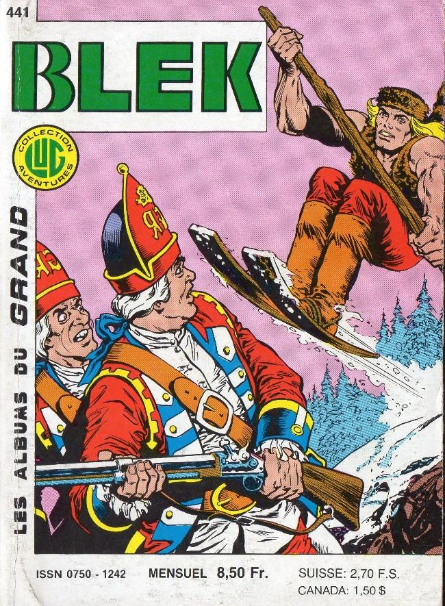 Couverture de Blek (Les albums du Grand) -441- La diligence perdue (2e partie)