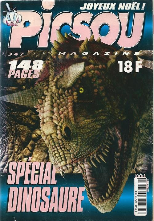 Couverture de Picsou Magazine -347- Spécial dinosaure