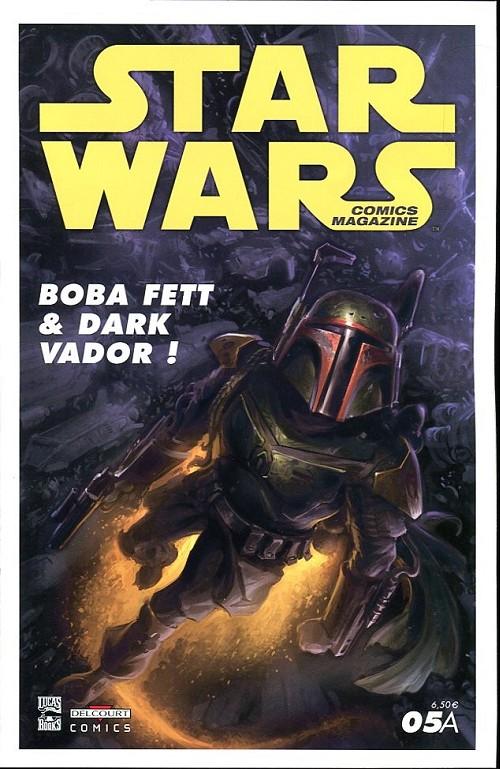 Couverture de Star Wars - Comics magazine -5A- Boba Fett & Dark Vador !