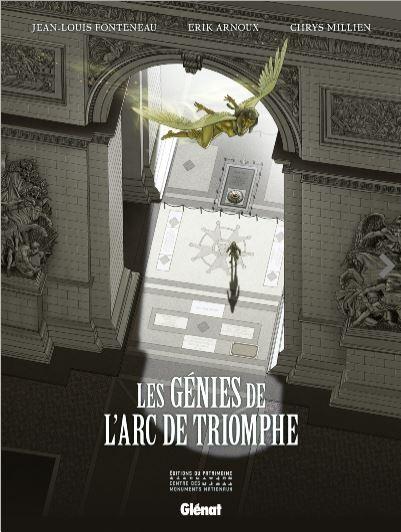 Couverture de Les génies de l'Arc de Triomphe