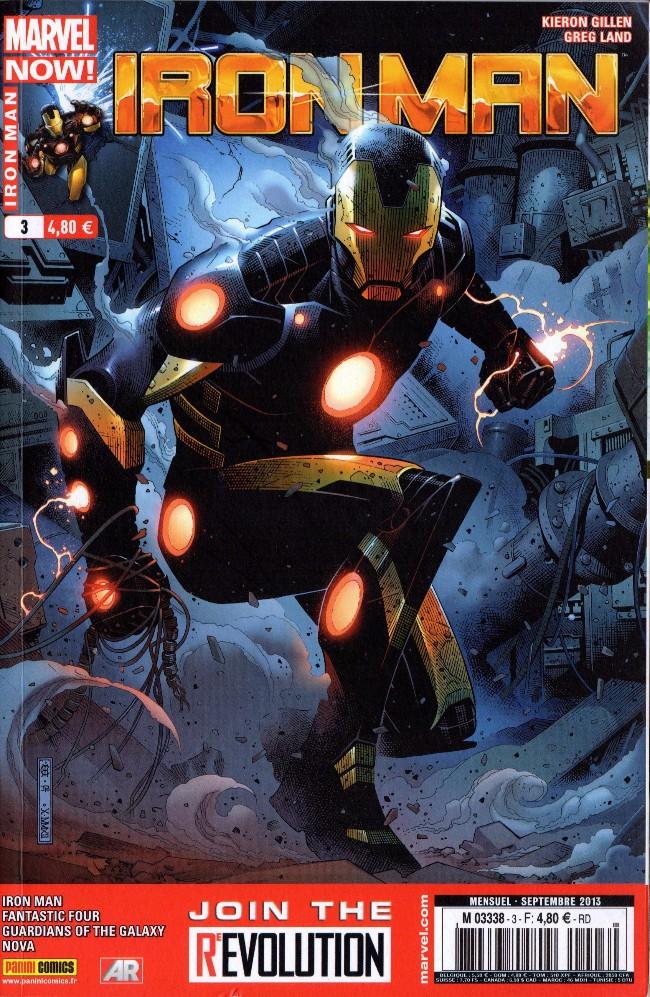 Couverture de Iron Man (Marvel France - 2013) -3- La peur du vide