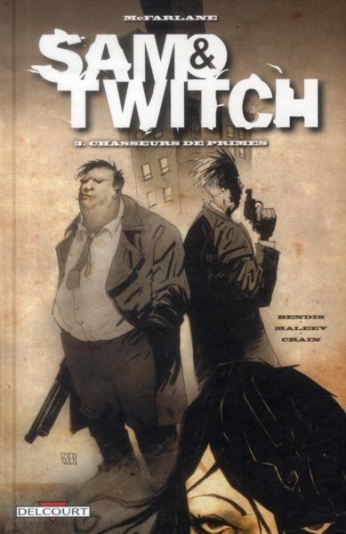 Couverture de Sam & Twitch -3- Chasseurs de primes