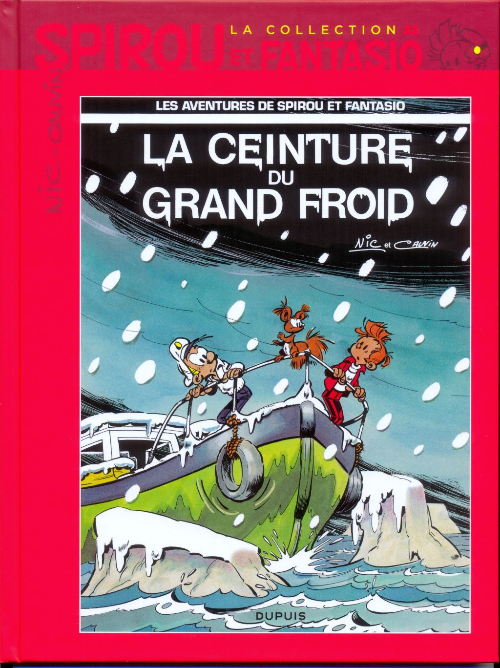 Couverture de Spirou et Fantasio - La collection (Cobra) -32- La ceinture du grand froid