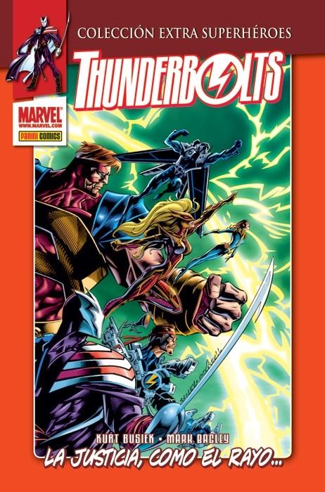 Couverture de Colección Extra Superhéroes - Thunderbolts -1- La justicia, como el rayo...