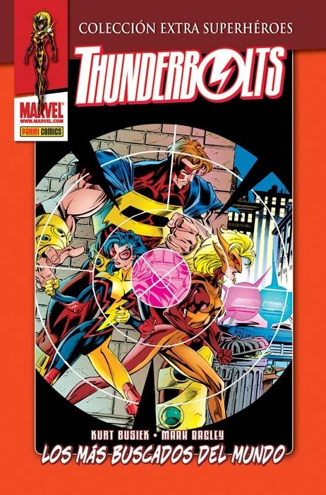 Couverture de Colección Extra Superhéroes - Thunderbolts -2- Los más buscados del mundo