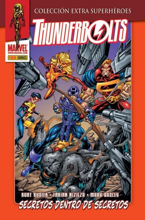 Couverture de Colección Extra Superhéroes - Thunderbolts -3- Secretos dentro de secretos