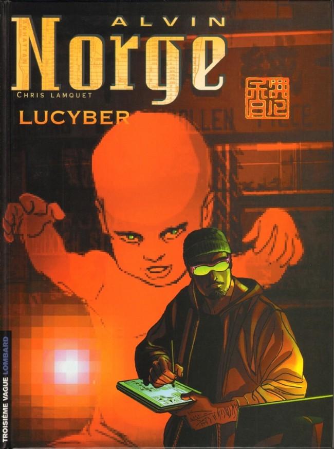 Couverture de Alvin Norge -3- Lucyber