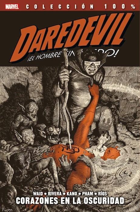 Couverture de 100% Marvel: Daredevil ¡El Hombre sin Miedo! -2- Corazones en la Oscuridad