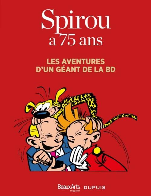Couverture de Spirou et Fantasio -2- (Divers) - Spirou a 75 ans