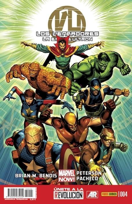 Couverture de Vengadores (Los): La Era de Ultrón -4- Libros Siete y Ocho