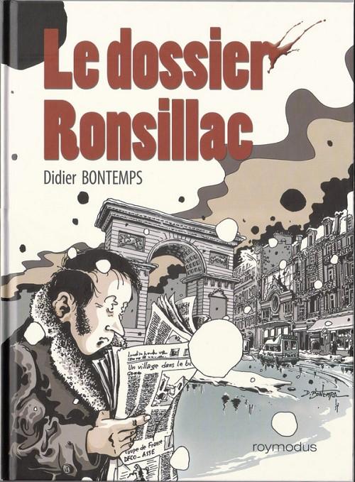 Couverture de Phil Cargo - Le dossier Ronsillac - Le dossier Ronsillac