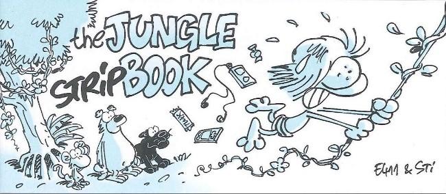 Couverture de Mini-récits et stripbooks Spirou -MR3936- The Jungle Stripbook