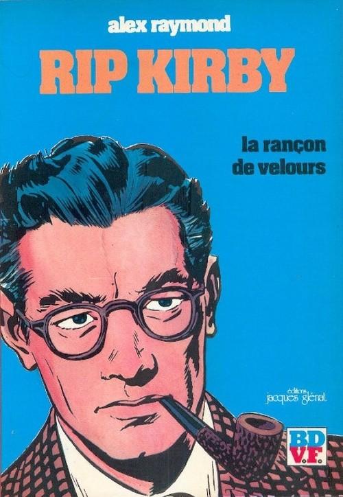 Couverture de Rip Kirby -2- La rançon de velours