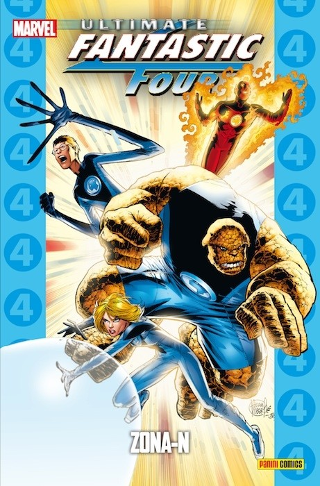 Couverture de Ultimate - Coleccionable Ultimate -21- Ultimate Fantastic Four 3: Zona-N