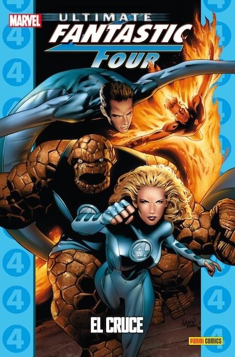 Couverture de Ultimate - Coleccionable Ultimate -26- Ultimate Fantastic Four 4: El cruce