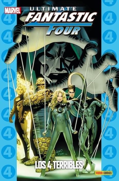 Couverture de Ultimate - Coleccionable Ultimate -33- Ultimate Fantastic Four 5: Los 4 Terribles
