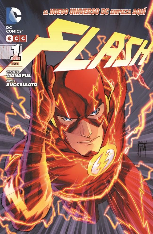 Couverture de Flash (en espagnol) -1- Piensa Deprisa