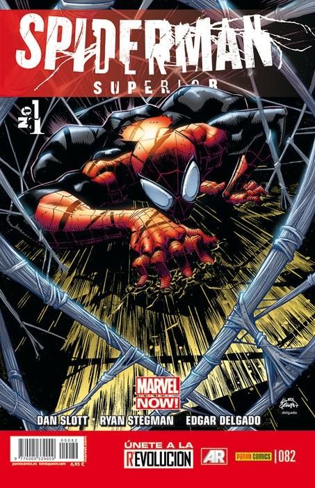 Couverture de Asombroso Spiderman -82- Spiderman Superior