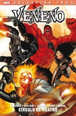 Couverture de 100% Marvel: Veneno -3- Círculo de Cuatro