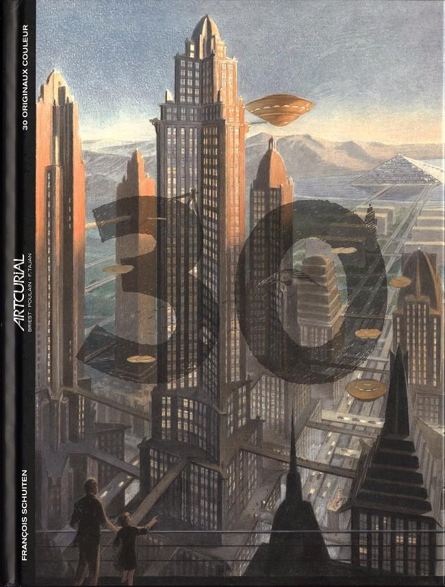 Couverture de (Catalogues) Ventes aux enchères - Artcurial - Artcurial - François Schuiten 30 originaux couleur - 24 octobre 2013