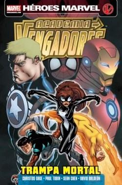 Couverture de Academia Vengadores -3- Trampa Mortal