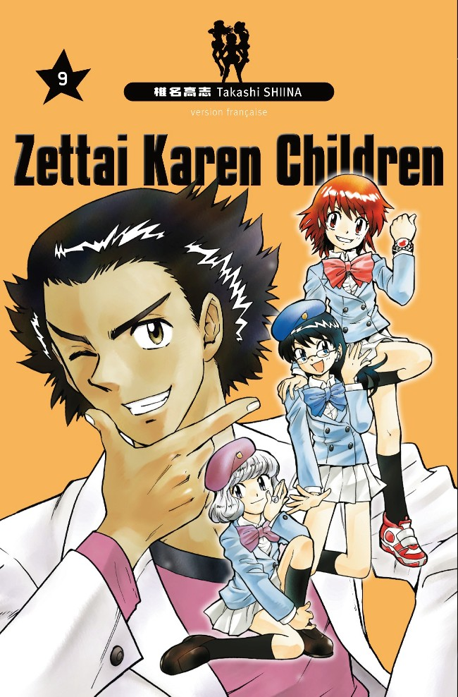 Couverture de Zettai Karen Children -9- Tome 9