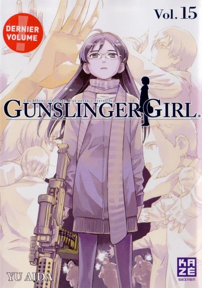 Couverture de Gunslinger Girl -15- Tome 15