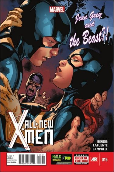Couverture de All-New X-Men (Marvel comics - 2012) -15- Jean Grey and the beast