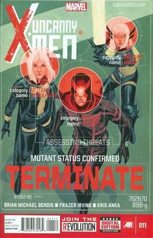 Couverture de Uncanny X-Men (2013) -11- Issue 11