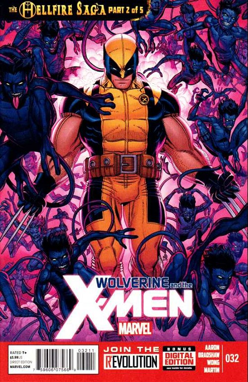 Couverture de Wolverine and the X-Men Vol.1 (Marvel comics - 2011) -32- The hellfire saga part 2 of 5