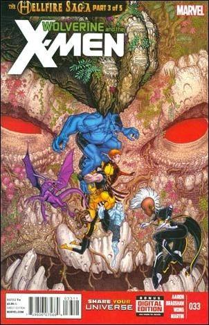 Couverture de Wolverine and the X-Men Vol.1 (Marvel comics - 2011) -33- The hellfire saga part 3 of 5