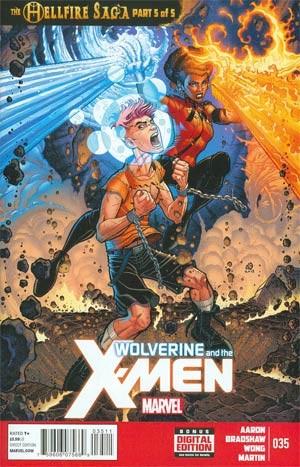 Couverture de Wolverine and the X-Men Vol.1 (Marvel comics - 2011) -35- The hellfire saga part 5 of 5