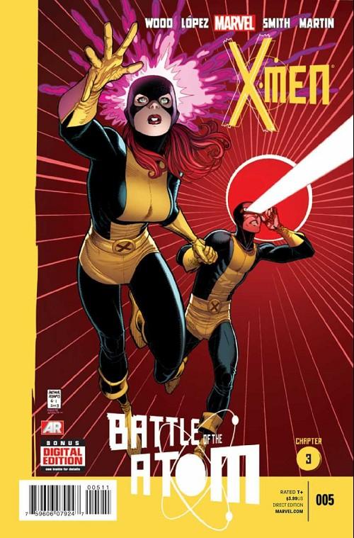 Couverture de X-Men Vol.4 (Marvel comics - 2013) -5- Battle of the Atom - Chapter 3