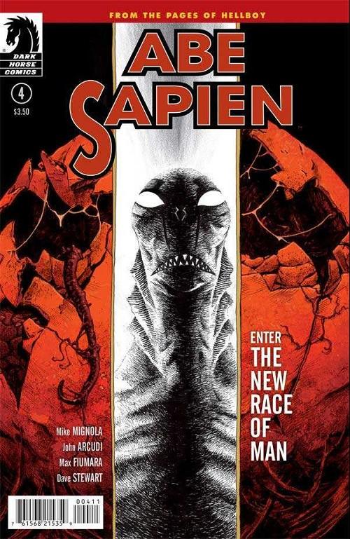 Couverture de Abe Sapien (2008) -14- The new race of man (part 1 of 2)