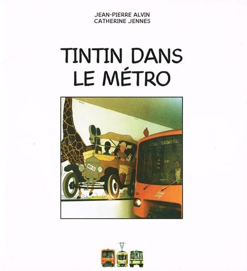 Couverture de Tintin - Divers - Tintin dans le métro
