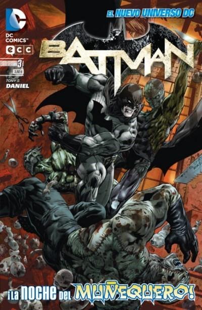 Couverture de Batman (en espagnol) -3- ¡La Noche Del Muñequero!