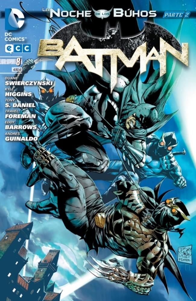 Couverture de Batman (en espagnol) -8- La noche de los Búhos - Parte 02