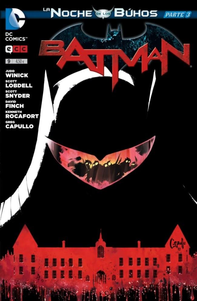 Couverture de Batman (en espagnol) -9- La noche de los Búhos - Parte 03