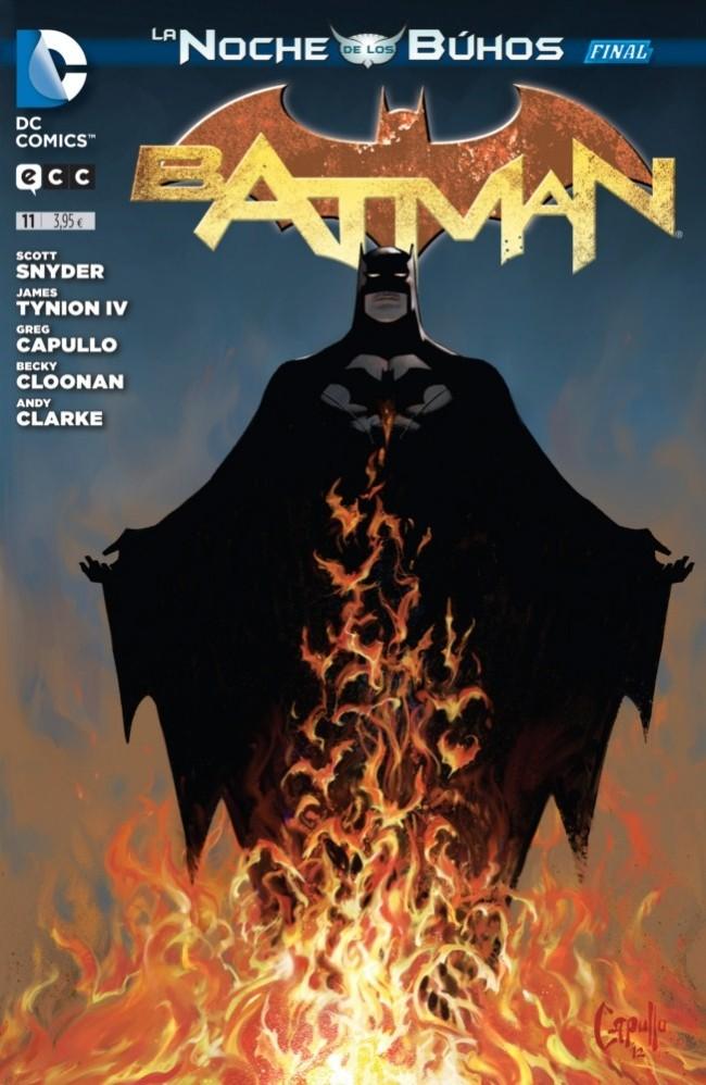 Couverture de Batman (en espagnol) -11- La noche de los Búhos - Final