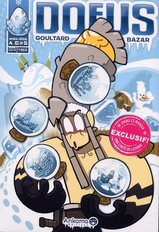 Couverture de Dofus -HS4- Goultard bazar